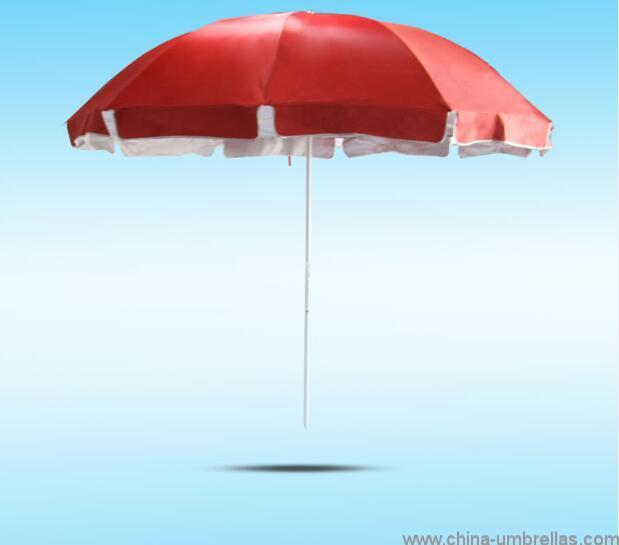 135cm-10ribs-outdoor-red-color-terrace-umbrella-05