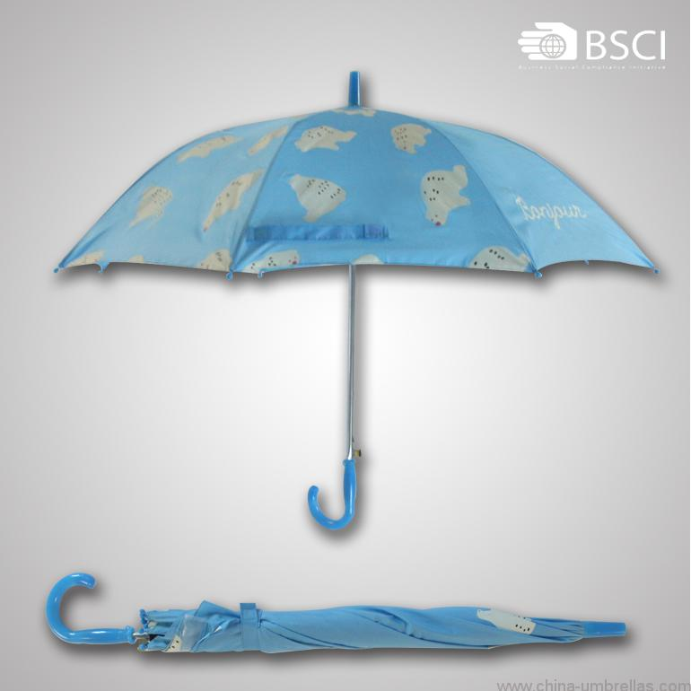 bear-printing-straight-auto-open-child-umbrella-01