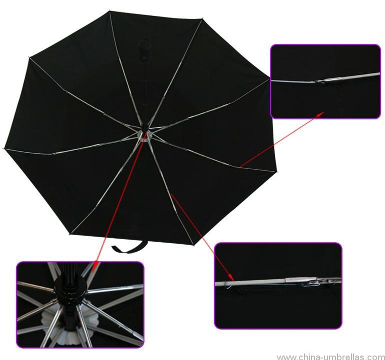 double-layer-3-folding-black-auto-open-close-vent-umbrella-03