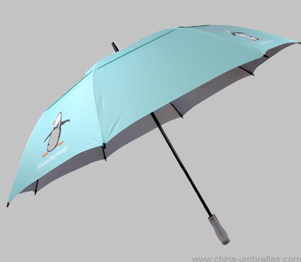 93779d66a280a golf fashion penguin umbrella - China Umbrellas