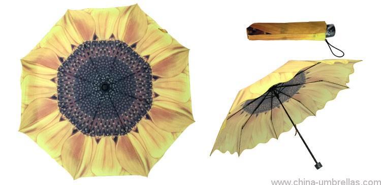 heat-transfer-printing-3-folding-sunflower-umbrella-04