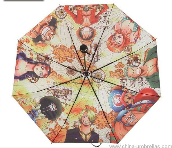 unique-japanese-anime-print-folding-umbrella-01