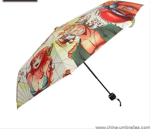 unique-japanese-anime-print-folding-umbrella-02